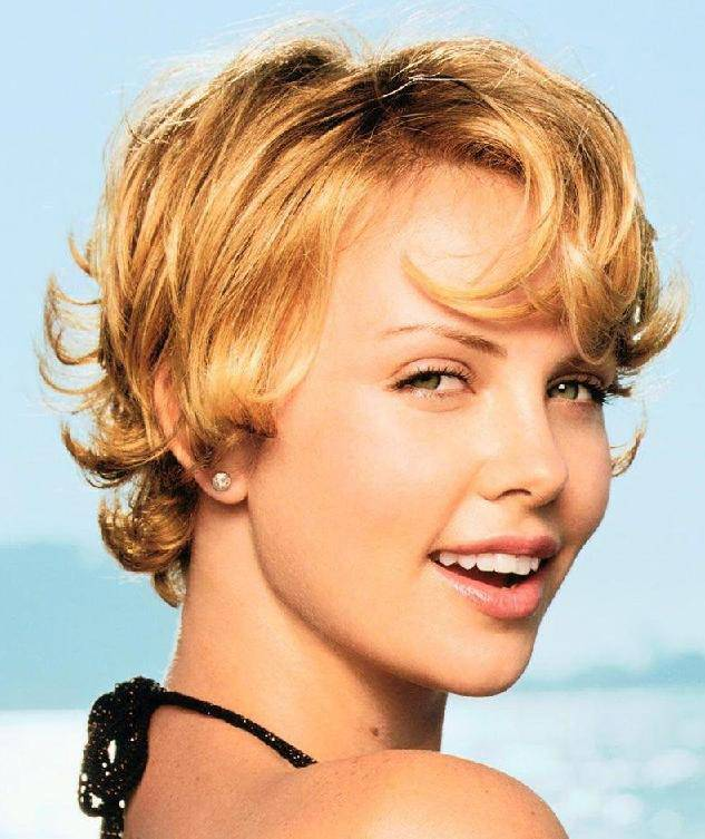 Really Short Wavy Hairstyles 2014