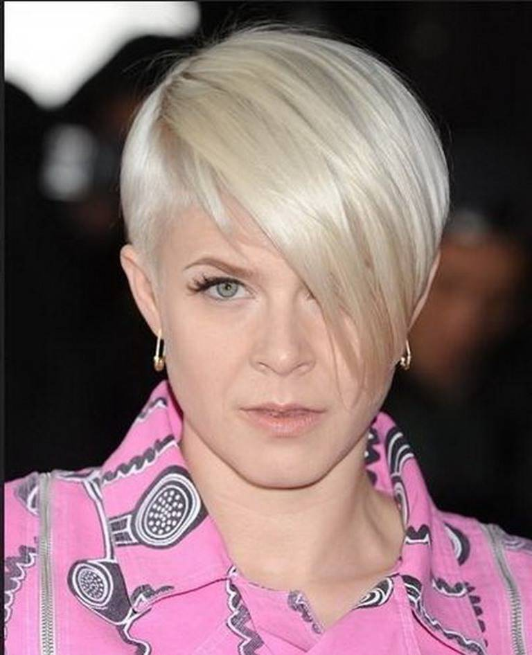 Short Hairstyles for Round Faces Older Women 2014
