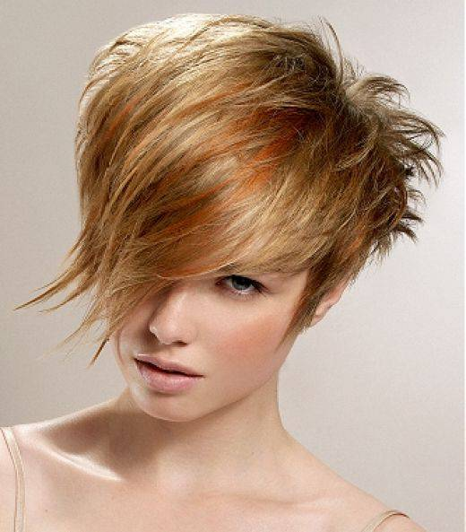 Short Messy Modern Hairstyles 2014