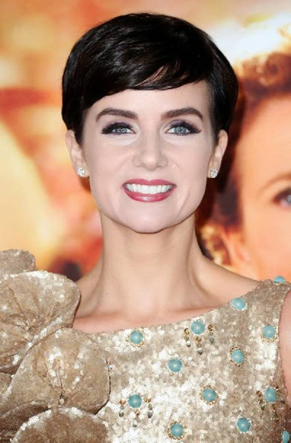 Victoria Summer Short Pixie Hairstyles 2014