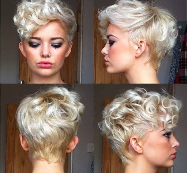 2014 Best Short Haircuts for Curly Hair