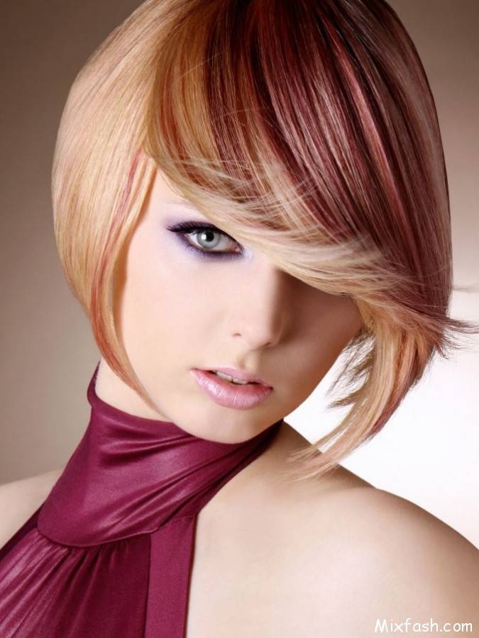 2014 Hair Color Trends for Short Hair