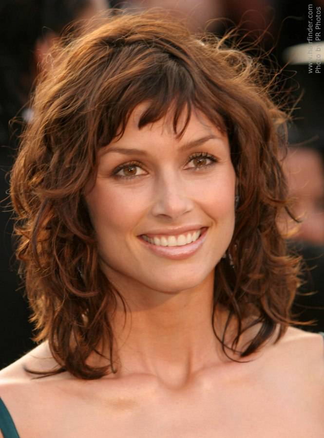 Medium Length Shag Hairstyles 2014