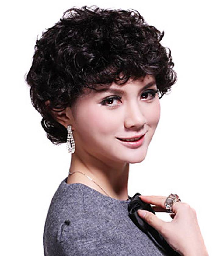 Cute 2014 Short Curly Black Hairstyles
