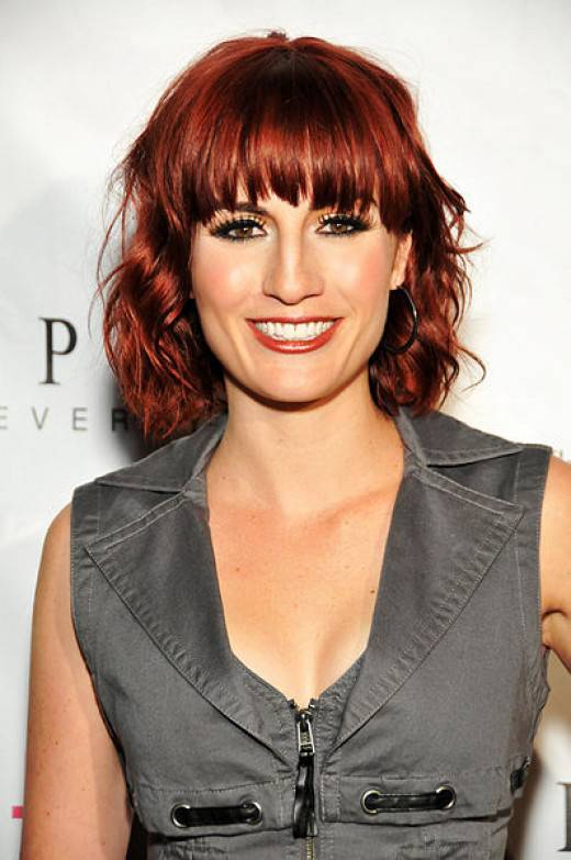 2015 Hair Color Trends for Short Hair Dark-Red-Hair-Color-for-Short-Hair