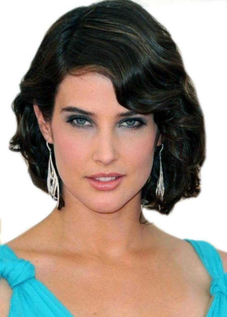 Short Black Hairstyles for Round Faces 2014