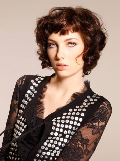 Short Curly Bob Hairstyles for Thick Hair 2014