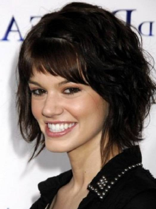 Short Hairstyles For Thick Black Hair 2014