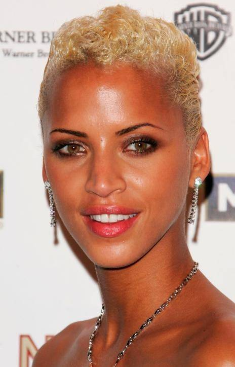 African American Short Blonde Hairstyles