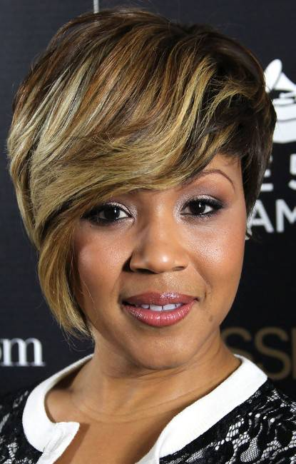 African American Short Hairstyles With Color