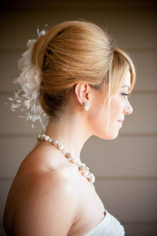 Cute Short Hairstyles For Weddings Updos
