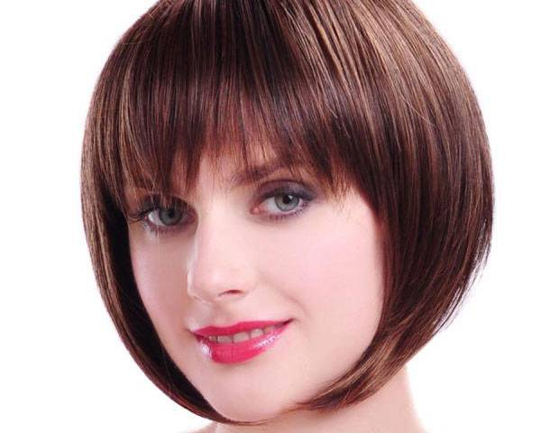 Short Haircuts with Bangs for Thick Hair