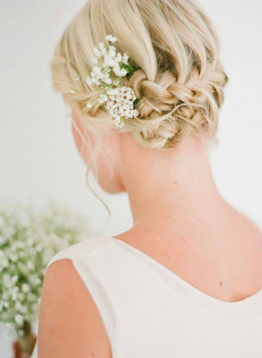 Short Hairstyles With Braids For Weddings