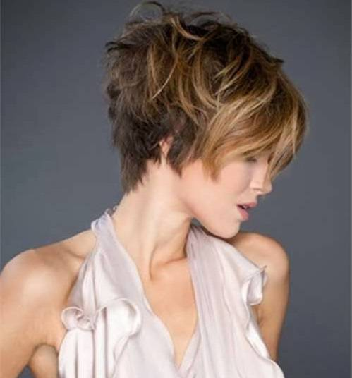 2014 Trendy Short Hairstyles Trendy-Short-Messy-Hairstyles