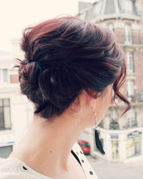 Cute Short Updo Hairstyles Ideas