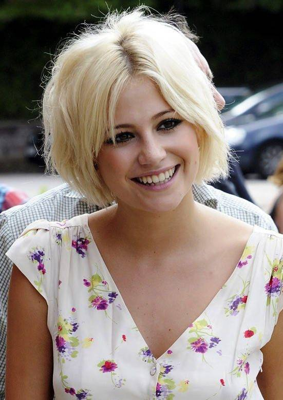 Short Blonde Hairstyle for Summer 2014