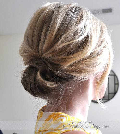 Short Updo Hairstyles for Beautiful Women