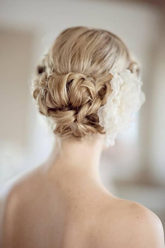 Short Updo Hairstyles for Wedding