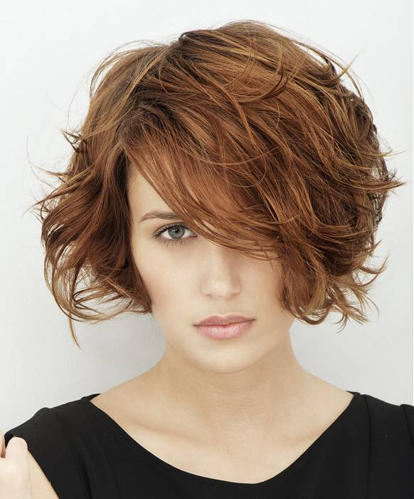 Best Short Summer Hairstyles 2014 Short-messy-bob-hairstyles-for-Summer