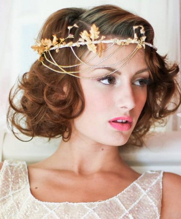 Cute Short Hairstyles for Bridesmaids Short-to-Medium-hair-for-Bridesmaids