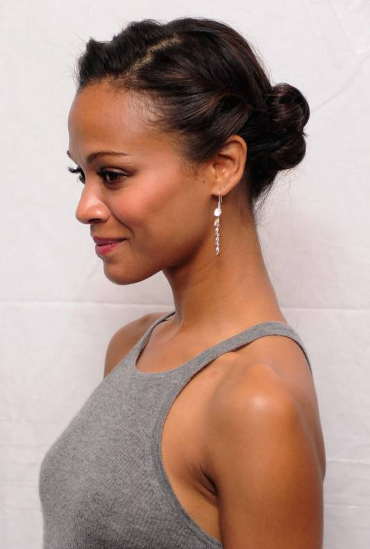short updo hairstyles for black women