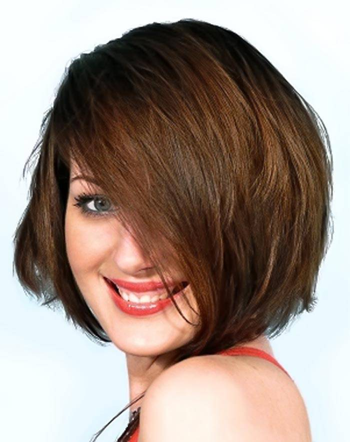 2014 Short Hairstyles for Round Faces Trendy-Short-Hairstyles-for-Round-Faces