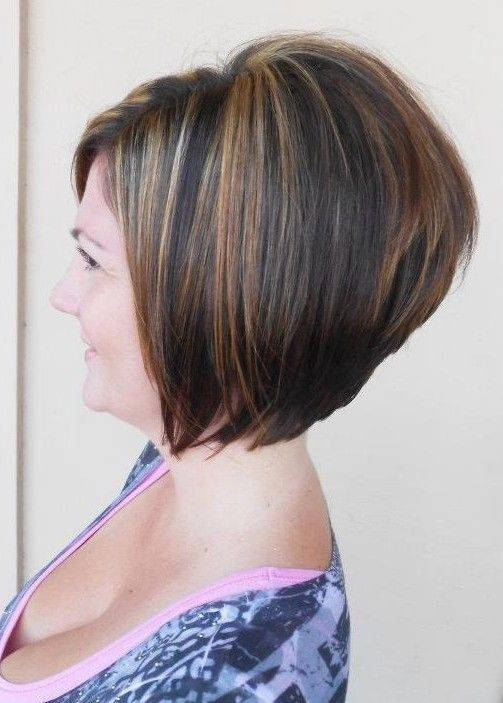 2014 Short Stacked Bob Hairstyles for Women 2014-Short-Stacked-Bob-Haircut-for-Women-Over-40