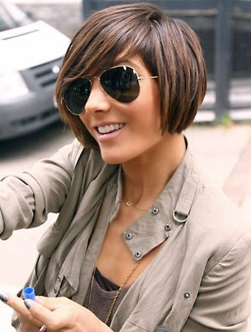 Short Black Bob Hairstyles 2014