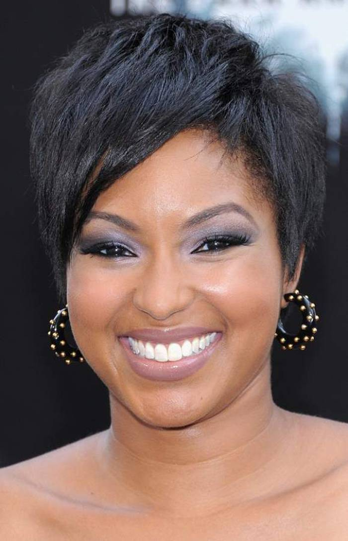 short black hairstyles 2014 for round face