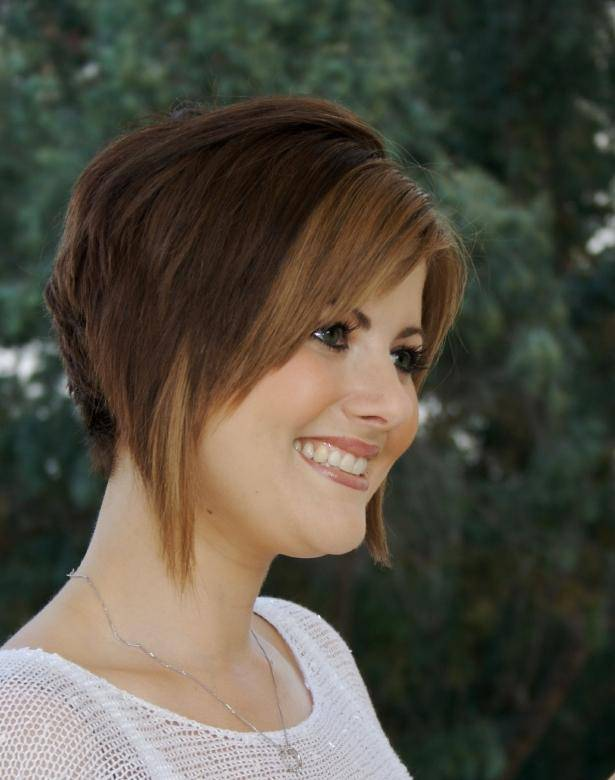 2014 short stacked layered bob hairstyles