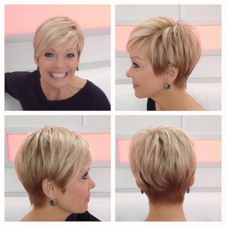 Beautiful Short Hairstyles for Older Women 2014