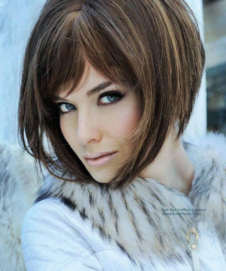 New 2014 Short Angled Bob Hairstyles Elegant-Short-Angled-Bob-Hairstyles-2014