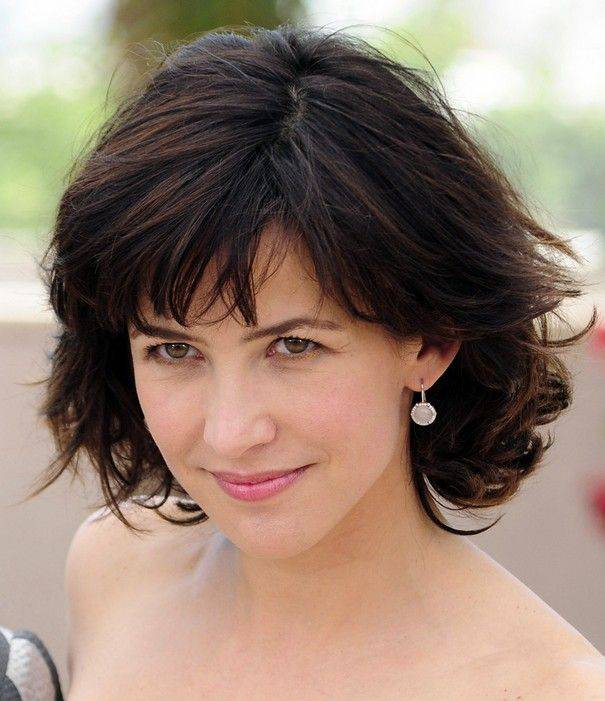 Short Hairstyles for Women Over 40 with Bangs