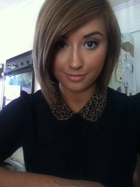 New 2014 Short Angled Bob Hairstyles Trendy-Short-Angled-Bob-Hairstyles-2014