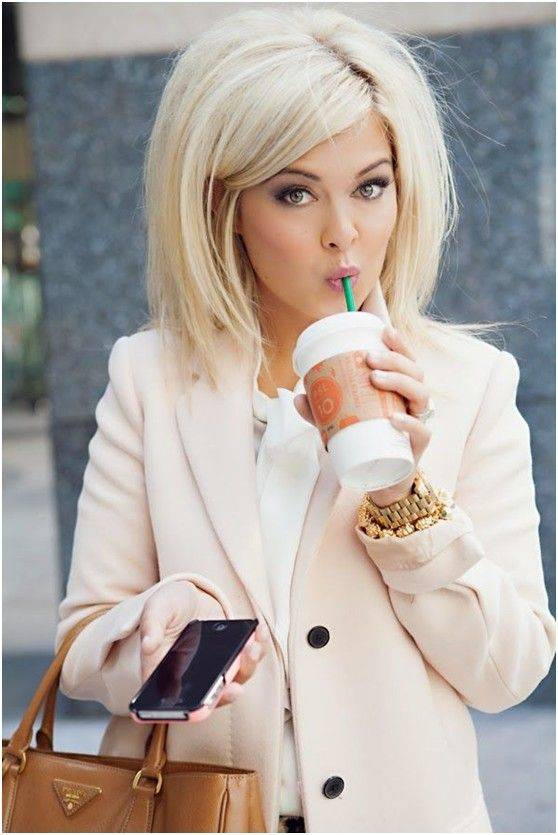 2014 Sexy Short Blonde Hairstyles