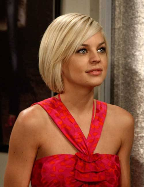 Cute Blonde Short Hairstyles