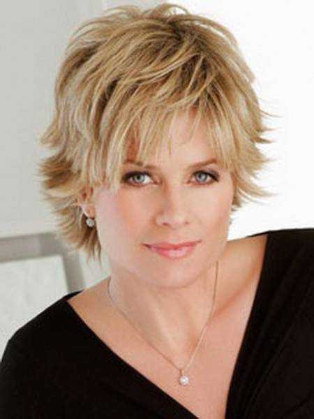 2015 Short Shaggy Hairstyles for Fine Hair - Short Hairstyles 2018
