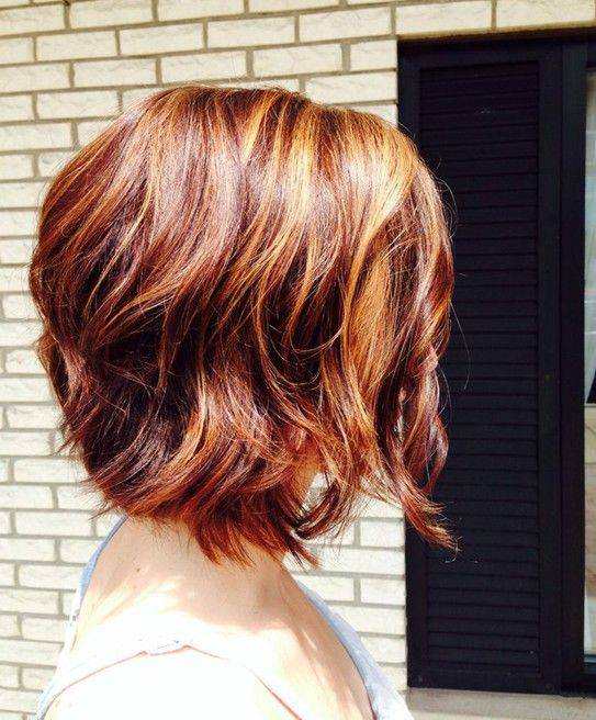 Cute Short Bob Hairstyles with Highlights