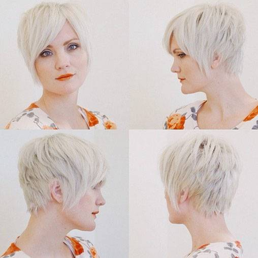 Cute Short Pixie Haircuts with Long Layers