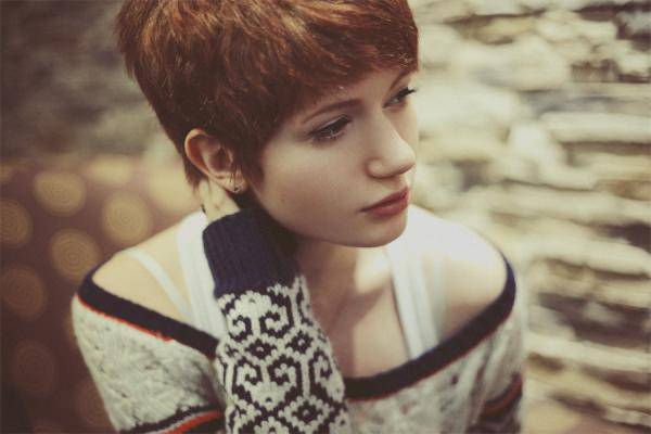 Cute Short Pixie Hairstyle for Girls
