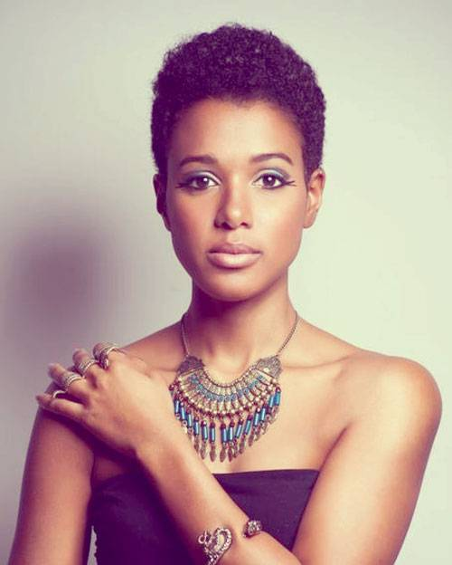 Natural Short Hair Trends for Black Women