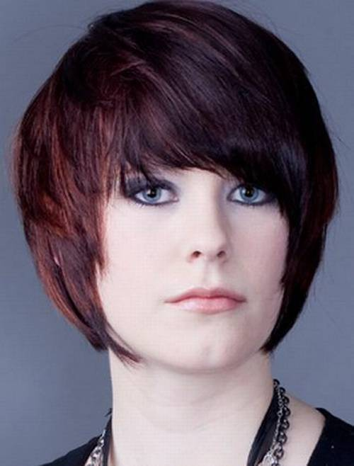New Short Hair Color Trends 2015 short-brown-hair-red-highlights