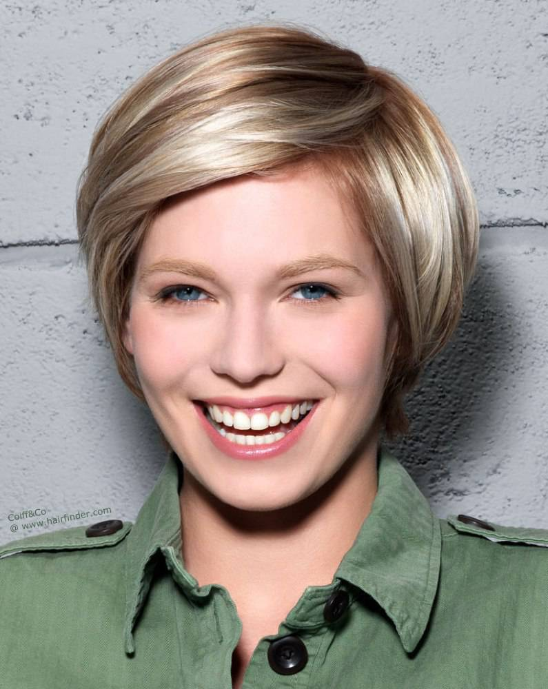 New Short Hairstyles and Highlights short-hair-highlights-and-lowlights