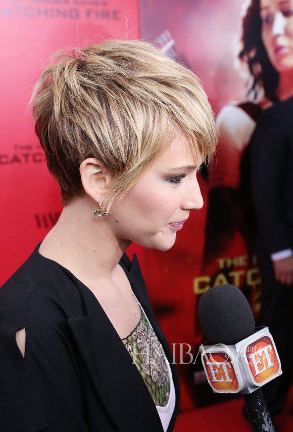 short hairstyles with color and highlights