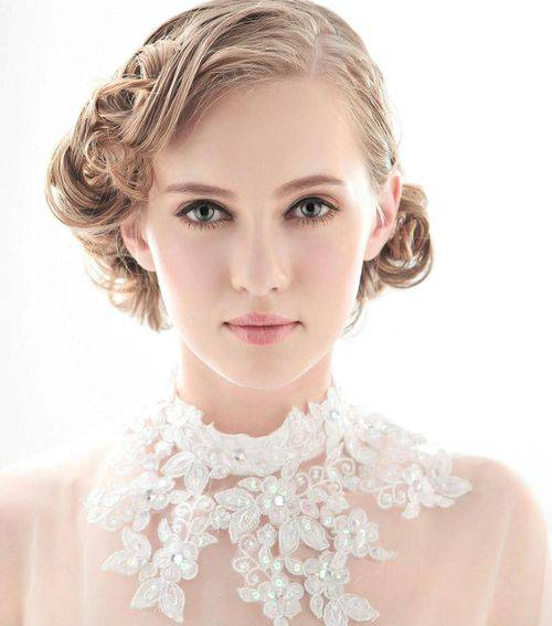 Vintage Short Hairstyles for Women vintage-wedding-hairstyles-for-short-hair