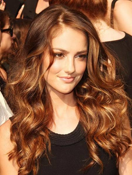 Kristina hairstyles ideas cute brown hair with highlights auburn brown hair with highlights pmusecretfo Image collections