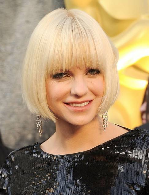 Best 11 Short Bob Hairstyles with Bangs short-blunt-bob-hairstyles-with-bangs