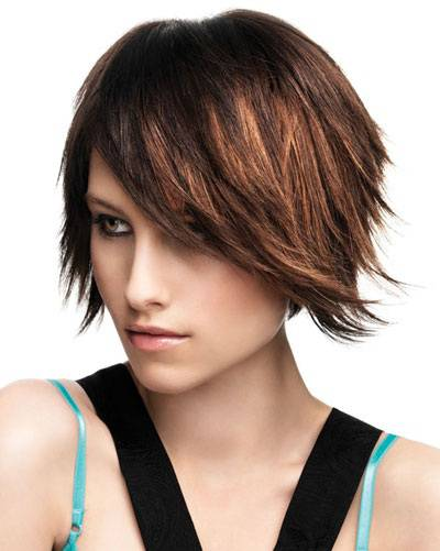 Short Inverted Bob Hairstyles for Beautiful Women short-choppy-inverted-bob-hairstyles