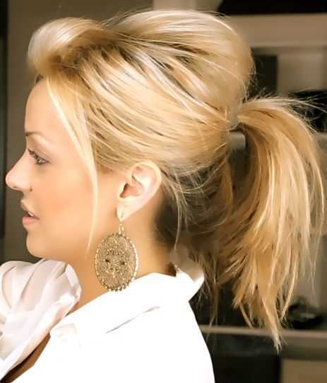 Short Length Hairstyles 2015 Cute-Ponytails-for-Short-Length-Hair