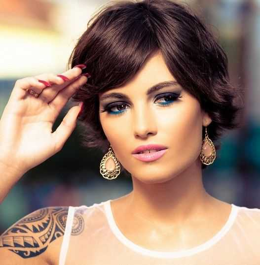 Short Hairstyles Trends for 2015 Cute-Short-Hairstyles-with-Side-Swept-Bangs